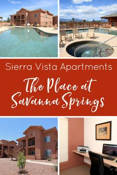 Sierra Vista Apartments: The Place at Savanna Springs - MCLife: Tucson