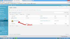 Daftar Author/Admin Edit untuk mengganti/Menambah Informasi/FotoProfil