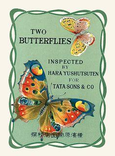 Sisters' Warehouse: Etichette Vintage Giapponesi - Vintage Japanese Labels