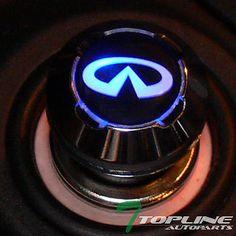 18mm BLUE LED 12V CAR CHARGER CIGARETTE LIGHTER INFINITI G20 G35 G37 I30 I35