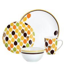 Rachael Ray Dinnerware Little Hoot 4-…