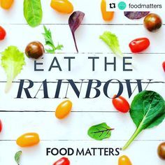 #Repost @foodmatters with @repostapp  Forget counting calories stop stressing about what nutrients are in what foods keep it simple and EAT THE RAINBOW   The beautiful thing about Mother Nature is that she supplies fruit and vegetables in an array of colors which means each color of fruit or veg carries its own set of unique disease-fighting nutrients. When you aim to eat the rainbow your body will be receiving a diverse range of these and will know exactly what it needs to do with them on…