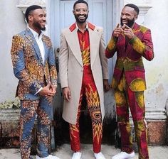 Menswear Label Kamsi TCharles has just unveiled its Czar & The Rabbi spring summer 2016 collection, which features an array of stunning designs in vibrant African … African Inspired Fashion, African Print Fashion, Africa Fashion, Fashion Prints, Ankara Fashion, Fashion Design, African Prints, African Fabric, African Attire