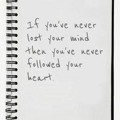 i've lost my miiiind & i still haven't found it ;)