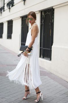 This fringe dress takes a page straight out of The Great Gatsby.