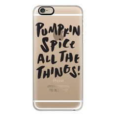 iPhone 6 Plus/6/5/5s/5c Case - Pumpkin Spice Black ($40) ❤ liked on Polyvore featuring accessories, tech accessories, iphone case, apple iphone cases, black iphone case and iphone cover case