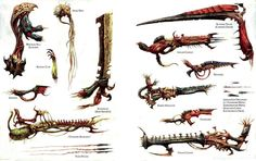 tyranid weapons