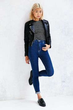 Rollas East Coast High-Rise Skinny Jean - Urban Outfitters