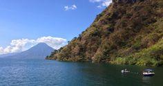 Lago Atitlán en Barco
