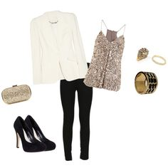 Very Cute! A blazer like this is a must! I will have to re-create this my own way...I think, I can :)