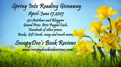April is a promise that May is bound to keep. We want you to come and join us again for another great multi author Giveaway. Running now