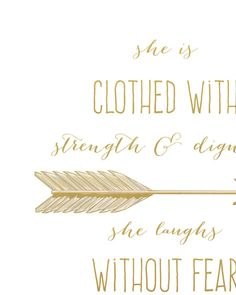 Printable Quote She Is Clothed With Strength by PrintableVerses a15e5f6d0e