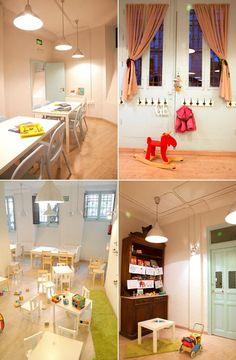 Grey Elephant es un espacio moderno donde padres e hijos pueden compartir experiencias inolvidables.