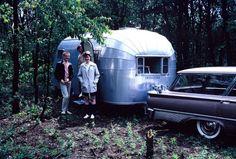 "memories65: "" Airstream camper/trailer 1950s/1960s """