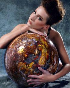 The Biggest Pietersite Sphere in the World,Gemstone,Rare Collection,Museum Grade in | eBay