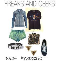 """Freaks & Geeks: Nick Andopolis"" by oliviairene14 on Polyvore"