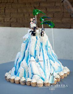 Pastel McKinley Mountain Monica Cabrera Cakes www.monicacabreracakes.com Puebla, México