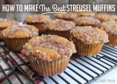 How to Make the Best Struesel Muffins… once you try them with Craisins® Dried Cranberries you won't be able to resist them!