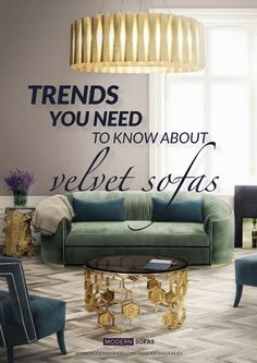 Amazing Trends You Need To Know About Velvet Sofas | Living Room Ideas. Velvet Sofa. Modern Sofas. #velvetsofas #modernsofas #velvetsofa Read more: http://modernsofas.eu/2016/10/11/amazing-trends-need-know-velvet-sofas/