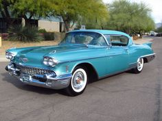 This is the one Cadillac dad would have had. 1958 Cadillac Eldorado Seville