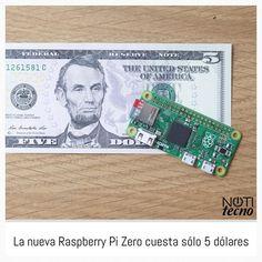 Something we loved from Instagram! La fundación Raspberry Pi no tiene límites. Su última creación roza lo imposible ya que han presentado una nueva placa de desarrollo con la que convencer definitivamente a aquellos que quieras dar sus primeros pasos en los proyectos caseros. Y es que la nueva Raspberry Pi Zero cuesta sólo 5 dólares ofreciendo un Broadcom BCM2835 a 1 GHz 512 MB de RAM ranura para tarjetas microSD mini-HDMI con salida 1080/60p micro USB y una ristra de 40 pines de conexión…