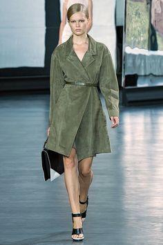 Love this green coat!