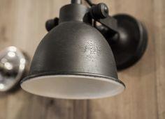 Wandlamp mila antiek zwart | Woonland