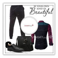 """""""sammy"""" by adelisamujkic ❤ liked on Polyvore featuring men's fashion and menswear"""