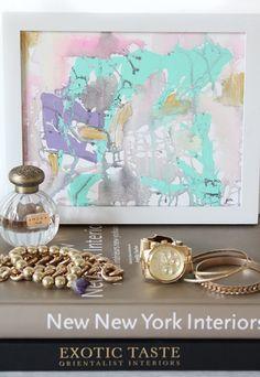 Perfume 10 - an original painting by Jen Ramos at Cocoa & Hearts