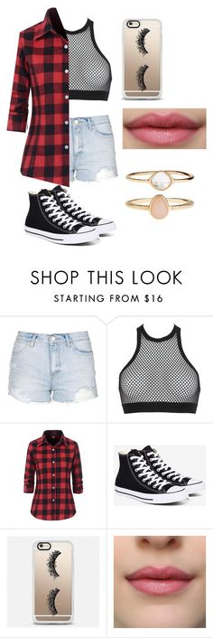 """Untitled #155"" by lilicabsilveira-1 on Polyvore featuring Topshop, Dsquared2, Converse, Casetify and Accessorize"
