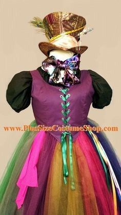 mad hatter alice in wonderland plus size by plussizecostumeshop