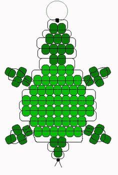Turtle pony bead pattern