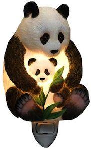 Ibis Orchid Design Panda Bear Mother and Cub Night Light Panda Love, Cute Panda, Happy Panda, Panda Panda, Panda Nursery, Latest Cartoons, Floral Pillows, Cubs, Orchids