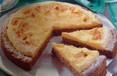 german gluten free almond cake - easy to make; using almond flour; original german recipe