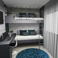 Fine Quarto Decorado Beliche that you must know, Youre in good company if you?re looking for Quarto Decorado Beliche Bunk Bed Rooms, Room Design Bedroom, Girl Bedroom Decor, Home Room Design, Home, Bedroom Design, Small Bedroom, Remodel Bedroom, Home Decor