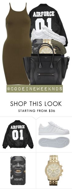 """""""11/15/15"""" by codeineweeknds ❤ liked on Polyvore featuring adidas and MICHAEL Michael Kors"""