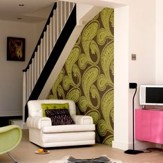 Ways to use wallpaper   Wallpaper ideas for living rooms   housetohome.co.uk