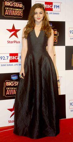 Alia Bhatt at the Big Star Entertainment Awards 2014