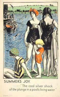 Dame Laura Knight: 'Summer's Joy',  1921. poster for London Transport