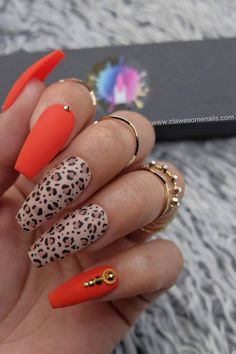 23 New Ways to Wear Leopard Nails in 2020 | StayGlam