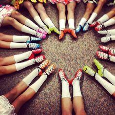 Rainbow ghillies!