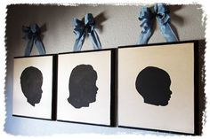 Mothers Day idea - Silhouettes