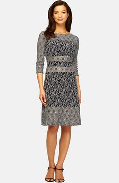 http://www.lyst.com/clothing/alex-evenings-illusion-panel-sheath-dress-black-white/?product_gallery=63662548