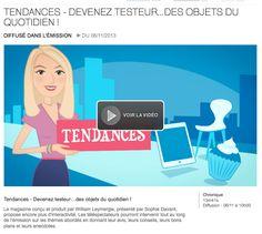 """Shoette sur France 2 dans l'émission """" C'est au Programme""""  Vidéo à voir ici : http://www.france2.fr/emissions/c-est-au-programme/diffusions/06-11-2013_148673"""