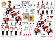 1809-15   Baden Garde Du Corps.      suzilove.com