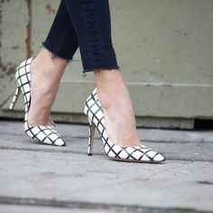 Update your white pumps with these fab heels from Kate Spade!