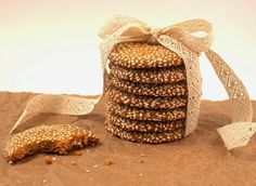 Sesame Cookies via Grande {Hot Polka Dot} Brownie Cake, Brownie Cookies, Cookie Desserts, Cookie Bars, Cake Cookies, Cookie Recipes, Cupcake Cakes, Brownies, Cupcakes