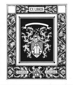 Ioannis P. Vlazakis Ex Libris