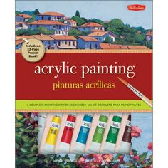 Walter Foster Creative Books - Acrylic Painting Kit For Beginners $16.99