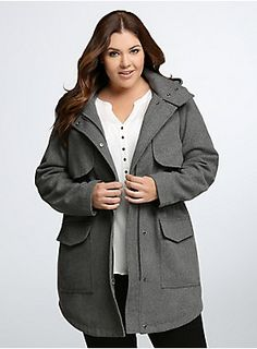Shop plus size clothing in the latest styles at Torrid! Find women's plus size clothing, dresses, lingerie, tops, jeans & more in sizes Curvy Fashion, Plus Size Fashion, Plus Size Coats, Black Quilt, Torrid, My Outfit, Passion For Fashion, Plus Size Outfits, Jackets For Women
